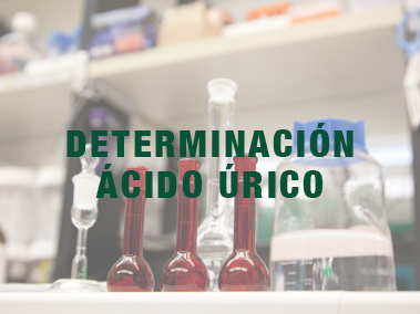 Determinación ácido úrico