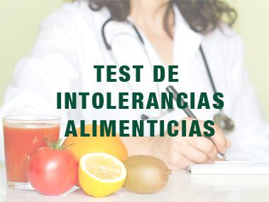 Test intolerancias alimenticias