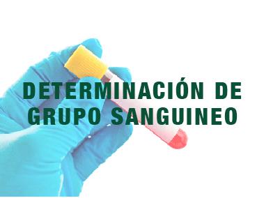Determinación de grupo sanguineo